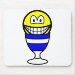Eggcup smile   mousepad
