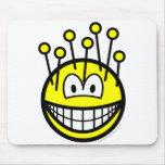 Pincushion smile   mousepad