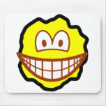 Cookie smile Chocolate chip  mousepad