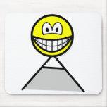 Mountaineer smile   mousepad