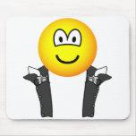 Gunslinger emoticon   mousepad
