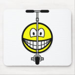 Scooter smile   mousepad