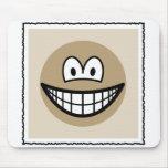 Sepia picture smile   mousepad