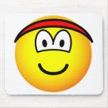 Headband emoticon   mousepad