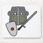Fighting Knight smile   mousepad