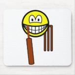 Cricket smile   mousepad