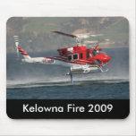 Mousepad 2009 del fuego de Kelowna Alfombrilla De Ratones