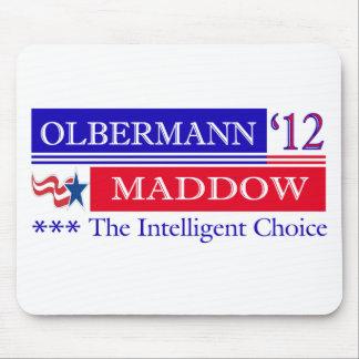 Mousepad 2012 de Olbermann Maddow Alfombrillas De Ratones