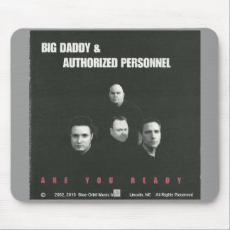 """Mousepad 2 - BD&AP """"Are You Ready"""" CD Cover"""