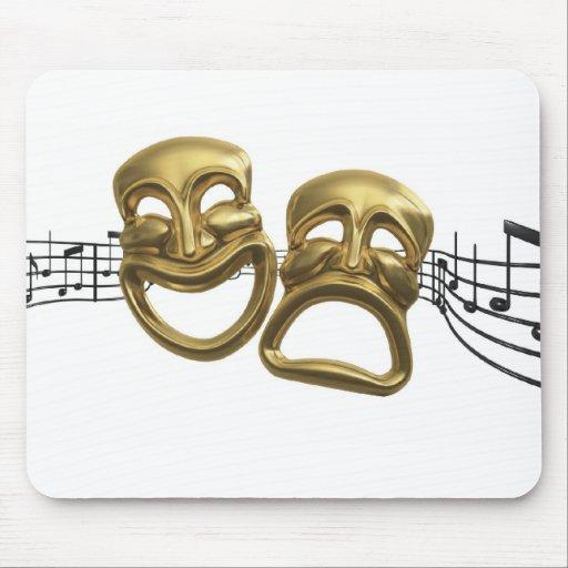 mousepad 37 de la música