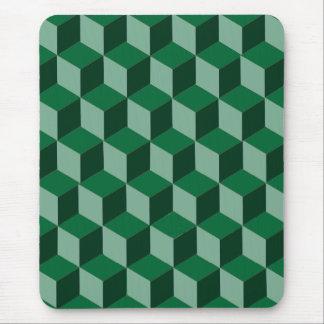 Mousepad - 3d building blocks illusion
