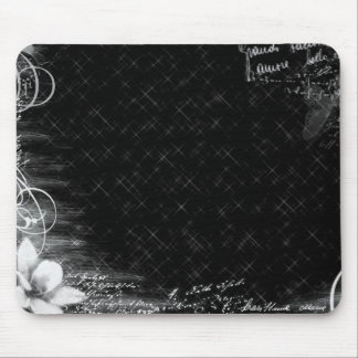 "Mousepad ""Abstract plain black """