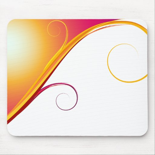 Mousepad abstracto