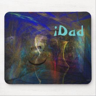 Mousepad abstracto artístico con el texto de encar