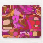 Mousepad abstracto coloreado tapete de ratones