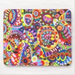 Mousepad abstracto colorido alfombrillas de ratón