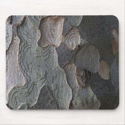 Mousepad abstracto de la macro de la corteza de ár