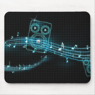 Mousepad abstracto de la música