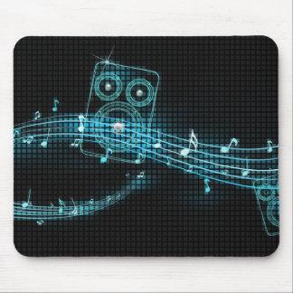Mousepad abstracto de la música tapete de ratón