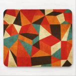 mousepad abstracto del vintage tapetes de ratones