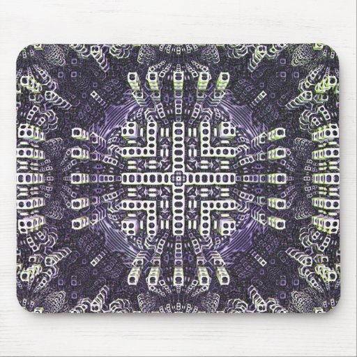 Mousepad abstracto fresco