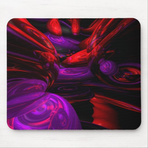 Mousepad abstracto psicodélico alfombrillas de raton