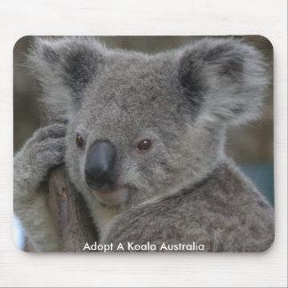 Mousepad adopta una koala Australia Alfombrillas De Ratón
