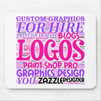 MousePad advertising Graphics Design