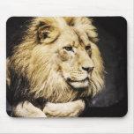 Mousepad africano del león tapete de ratones