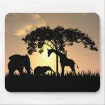 Mousepad africano del safari tapete de ratón