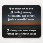 Mousepad al Sun soñoliento duerme poema por el afl Alfombrilla De Raton