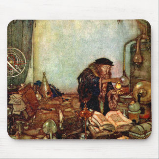 Mousepad Alchemist and His Gold by Edmund Dulac
