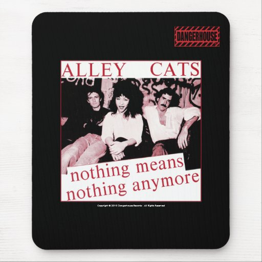 Mousepad Alleycats nada (rojo) NEGRO de Dangerhous