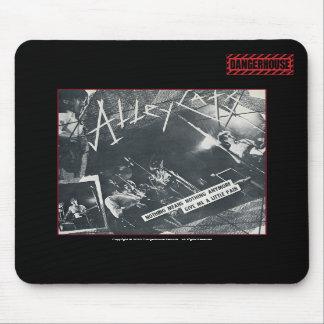 Mousepad Alleycats Nothing (B&W) Dangerhouse BLACK