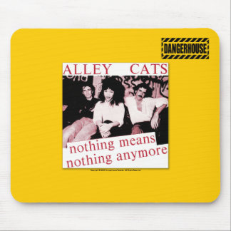 Mousepad Alleycats Nothing (Red) Dangerhouse LIGHT