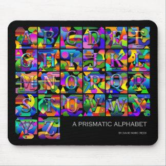Mousepad Alphabet
