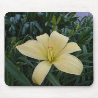 Mousepad amarillo de la flor tapete de ratones