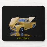 Mousepad amarillo viejo tapete de raton