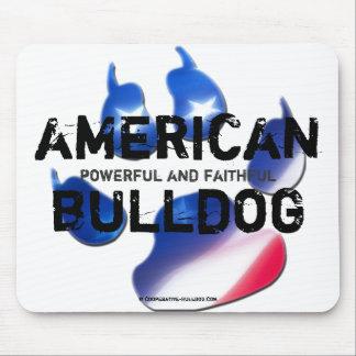 Mousepad American Bulldog