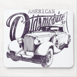 "Mousepad ""American Olds Mobile """