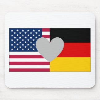 Mousepad americano alemán