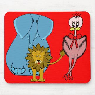 "mousepad ""animals"""
