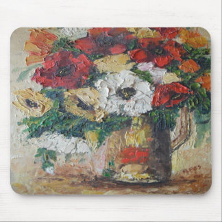 Mousepad Ann Hayes Painting Flower Mix Delight