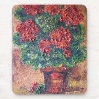 Mousepad Ann Hayes Painting Red Beauty