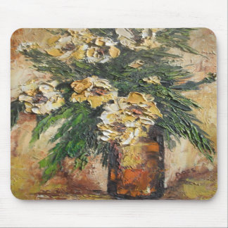 Mousepad Ann Hayes Painting Yellow Flowers In Vase