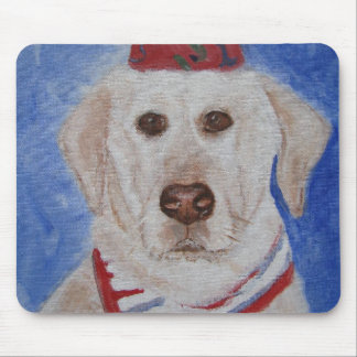 Mousepad - arte amarillo del perro del labrador re alfombrillas de ratones