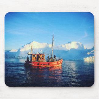 mousepad ártico de la pesca