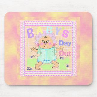 Mousepad asiático del bebé alfombrillas de ratones