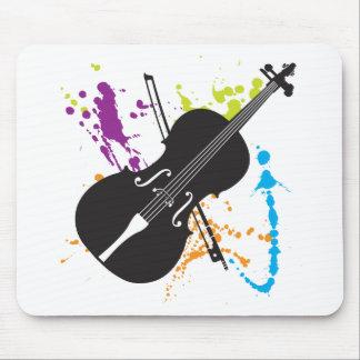 Mousepad atado del instrumento