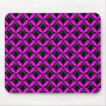 Mousepad atractivo de la parte alta púrpura vibran alfombrillas de ratón